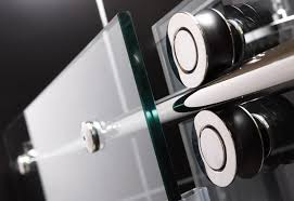 dreamline enigma 68 u2013 72 u2033 fully frameless sliding shower door 1 2