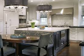 Kitchen Island With Built In Seating Kitchen Fabulous Kitchen Island With Bench Seating Built In 35