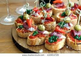 canape angles canape en stock pintxos tapas canapes finger food