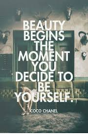 Coco Chanel Meme - beauty begins the moment you decide to yourself coco chanel coco