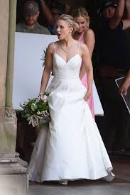 kristen bell was spotted in central park wearing the fall wedding
