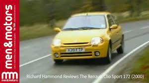 renault clio 2002 modified richard hammond reviews the renault clio sport 172 2000 youtube
