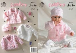 king cole comfort chunky knitting pattern childrens jacket sweater