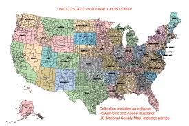 map of us without names usa county globe editable powerpoint maps for sales and