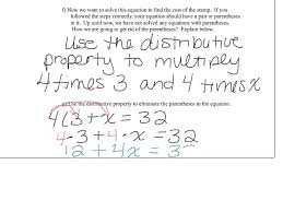 Worksheet Word Equations Worksheet Distributive Property Word Problems Laurelmacy