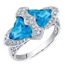 blue topaz engagement rings beautiful blue topaz gold ring for sale at 1stdibs