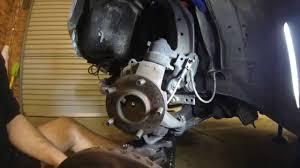 nissan gtr brake rotors brake rotor install r33 youtube