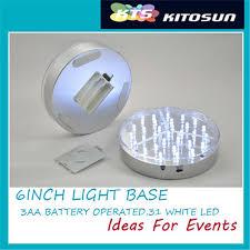 Led Vase Base Light Aliexpress Com Buy Kitosun 6inch Acrylic Round Led Vase Base