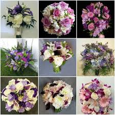 wedding flowers calgary lavender and light purple wedding bouquets dahlia floral design