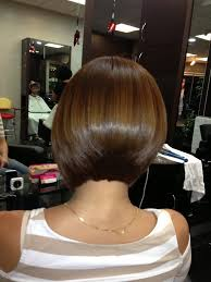sissy hairstyles color highlight brazilian blowout and aline bob haircut in irvine