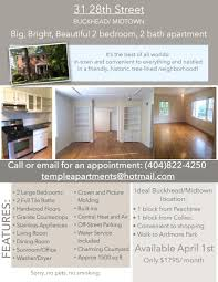 apartment unit 2 at 31 28th street nw atlanta ga 30309 hotpads