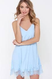 light blue shift dress cute lace dress blue dress shift dress 49 00