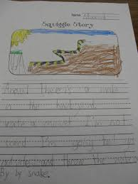 printable story writing paper what the teacher wants squiggle stories squiggle stories
