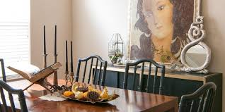 halloween dining room a study of the curious and curiouser the