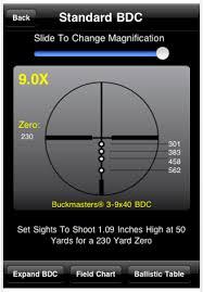 Ballistics Table Nikon Spot On Program And Tools