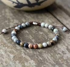 mens bracelets 2018 6mm stones beaded bracelet