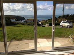 Double Pane Patio Doors by Smarts Systems Visoglide Aluminium Four Pane Patio Door Lowes