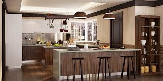 wooden kitchen cabinets modern modern wood grain u shape kitchen cabinet op16 pvc06
