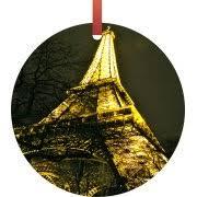 eiffel tower ornaments