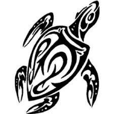 amazon com unique tribal turtle tattoo design vinyl sticker wall