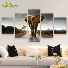 Art For Living Room Online Get Cheap Elephant Wall Art Aliexpress Com Alibaba Group