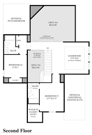 Newmark Homes Floor Plans Cinco Ranch Enclave At Ridgefield Heights The Saffron Home Design