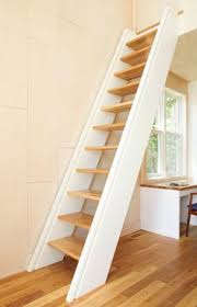 leiter f r treppe spartreppe regal diele treppe lofts attic stairs