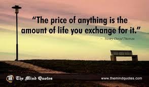 henry david thoreau quotes on money and themindquotes