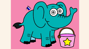 coloring pages for kids elephant coloring pages youtube