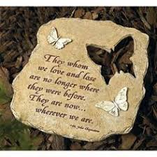 garden memorial stones memorial heart cut out stepping family garden and gardens