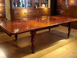 sold william iv period mahogany extending dining table antique