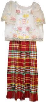 kimona dress patadyong philippine folklife museum foundation san francisco ca