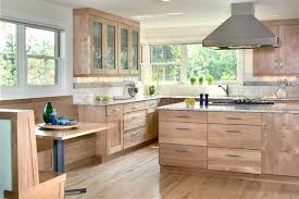 Light Wood Kitchen Fascinating Unique Kitchen Designs Cabinets Traditional Light Wood