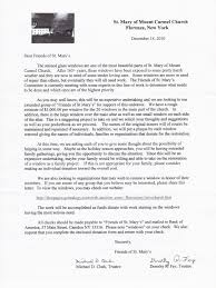 save church letter