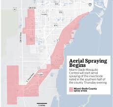 Map Of Miami Dade County by Miami U0027s Getting An Aerial Spray Of Naled Friday Night To Fight