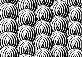 texture design black and white pattern in a circle background texture design