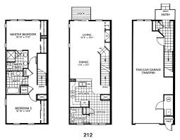 row home plans row house building plans house plans