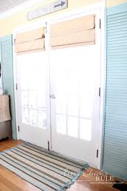 Bi Fold Shutters Interior Repurposed Bi Fold Doors Duck Egg Blue Chalk Paint Artsy