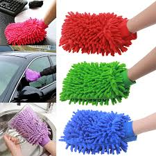Cloth Car Seat Cleaner Online Get Cheap Microfiber Super Absorbent Cleaning Gloves