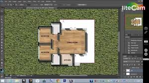 basic rendering of architectural floor plans using photoshop