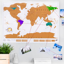 Create A Map With Pins Scratch Off U0027push Pin U0027 World Map Bundle By Luckies