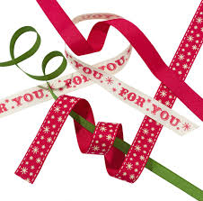 christmas ribbon set 4 x 1 5m christmas gift wrap craft green red