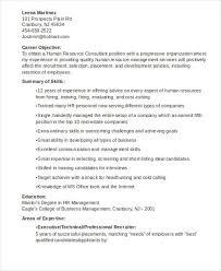 sample management and hr consultant resume hr consultant resume