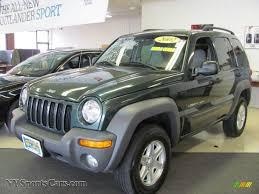 liberty jeep 2002 2002 jeep liberty sport 4x4 in shale green metallic 302183