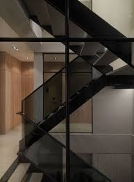 Office Stairs Design by A Multilevel Contemporary Apartment By Wch Studio Apartments
