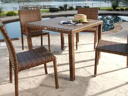 Dining Table With Rattan Chairs Dining Table With Wicker Chairs Wood Dining Table With Wicker