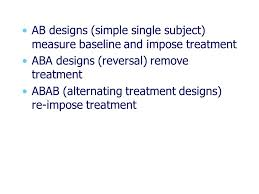 alternating treatment design chapter overview the nonequivalent control group design the static