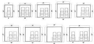 garage size chart garage door size chart bedroom furniture garage