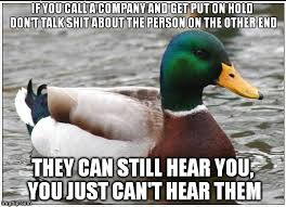 Call Centre Meme - as someone who works in a call centre meme guy