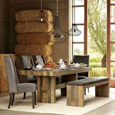 Wood Dining Table Bench Dining Kitchen Pinterest Dining - West elm emmerson reclaimed wood dining table